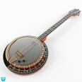 3d model the musical instrument