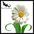 3d model the daisy flower