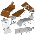 3d model the medical table