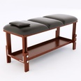 3d modell the massage table with a leather cover