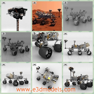 3d model a robot with several feet - Share and Download 3D Models at