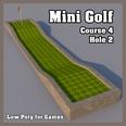 3d model the long mini golf course