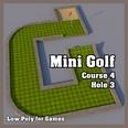 3d model the mini golf ground