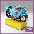 3d model the motorcycle for kids