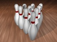 3d model the pins of Bowling