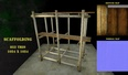 3d model the bamboo scaffold