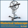 3d model the telescope