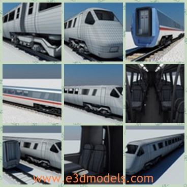 3d model the british rail train - Share and Download 3D Models at