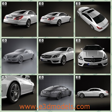 3d model the car in 2012 - This is a 3d model of the car in 2012,which is the sedan in modern style.The car is popular and outstanding around the world.