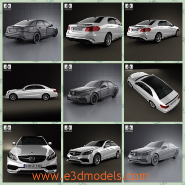 3d model the car of Benz - This is a 3d model of the car of Benz,which is large and spacious.The car was  created accurately, in real units of measurement, qualitatively and maximally .