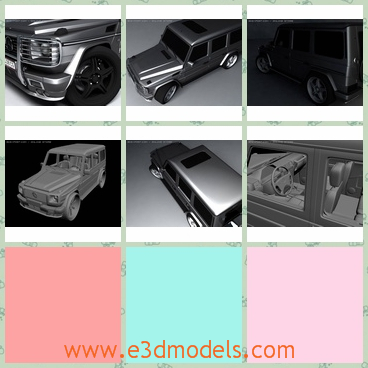 3d model the car of Benz in 2009 - THis is a 3d model of the car of Benz in 2009,which is made in real size.Wheels and doors are grouped together.