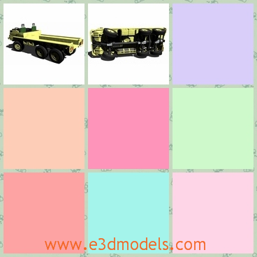3d model the off-road vehicle - This is a 3d model of the off-foad vehicle,which is the brand of Puch and the model is large and long and heavy.