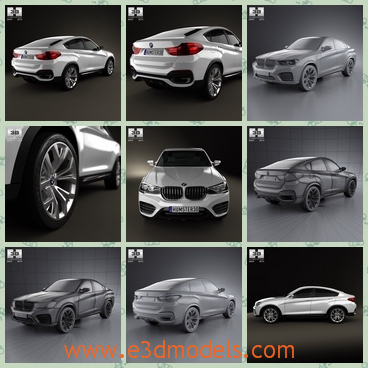 3d model the saloon car of BMW - This is a 3d model of the saloon car of BMW,which is the concept of a German creator and the car is fast and popular.