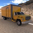 3d model the delivery truck