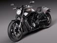 3d model the motorbike