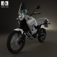 3d model the motorcycle in 2012