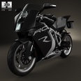 3d model the motorcycle made in 2012