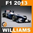 3d model the racing car F1