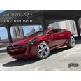 3d model the red sports car