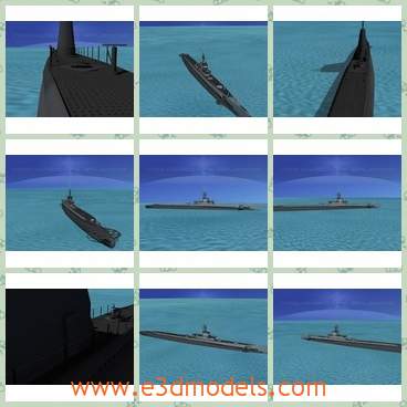 3d model the submarine of USA - THis is a 3d model of the submarine,which served in WWII after 1942 and were successful in combat. The earlier boats were powered by 2 diesel engines.