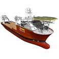3d model the vessel
