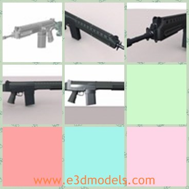 3d model the gun IA2 - Share and Download 3D Models at