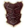 3d model a shield in medieval time