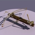 3d model the assault bow with the arrow