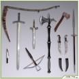 3d model weapons